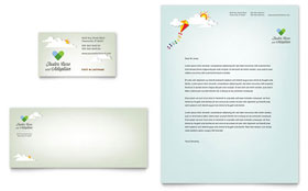 Foster Care & Adoption - Business Card & Letterhead