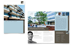 Architect - Apple iWork Pages Brochure Template