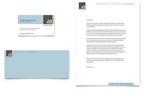Architect - Business Card & Letterhead Template