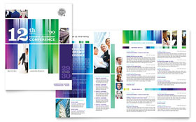 Business Leadership Conference - Adobe Illustrator Brochure Template