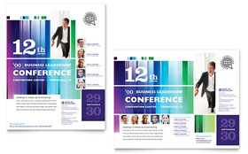 Business Leadership Conference - Poster