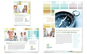 Business Solutions Consultant - Leaflet Template