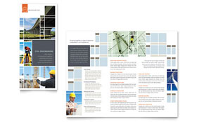Civil Engineers - Tri Fold Brochure