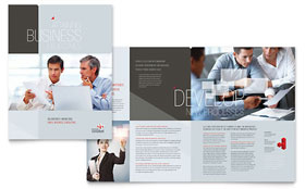 Corporate Business - Microsoft Word Brochure Template