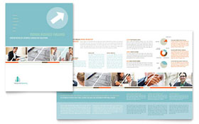 Management Consulting - Adobe Illustrator Brochure Template