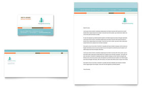 Management Consulting - Business Card & Letterhead