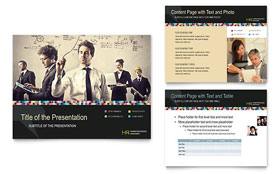 Human Resource Management - Microsoft PowerPoint Template