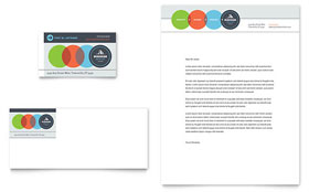 Business Analyst - Business Card & Letterhead