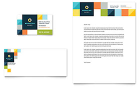 Advertising Company - Business Card & Letterhead