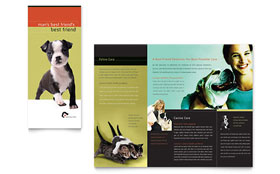 Veterinary Clinic - Desktop Publishing Brochure Template