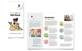 Pet Store - Brochure Template