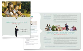 Realtor & Realty Agency - CorelDRAW Brochure Template