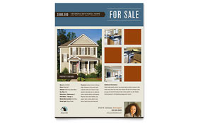 Real Estate Agent & Realtor - Flyer