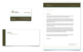 Urban Real Estate - Business Card & Letterhead Template