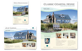 Coastal Real Estate - Flyer & Ad