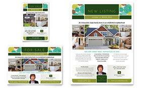 Real Estate - Flyer & Ad Template