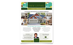 Real Estate - Flyer Template