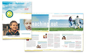 Special Education - Microsoft Word Brochure Template