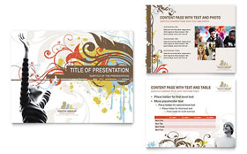 Church Youth Group - Microsoft PowerPoint Template