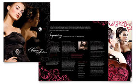 Formal Fashions & Jewelry Boutique - Pamphlet Template