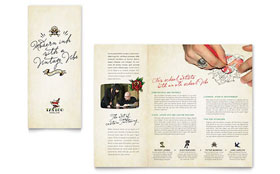 Body Art & Tattoo Artist - QuarkXPress Brochure