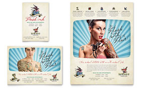 Body Art & Tattoo Artist - Print Ad