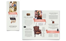 Antique Mall - Brochure Template