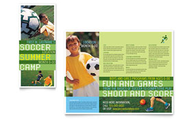 Soccer Sports Camp - Brochure