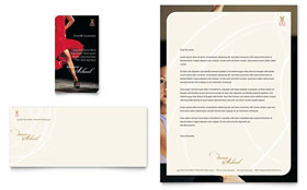 Dance School - Business Card & Letterhead
