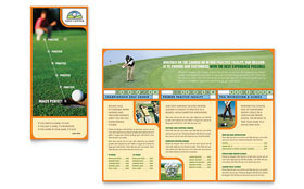 Golf Instructor & Course - Brochure