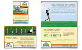 Golf Instructor & Course - Flyer & Ad