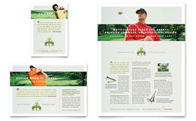 Golf Course & Instruction - Flyer & Ad Template