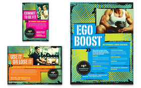 Strength Training - Flyer & Ad Template
