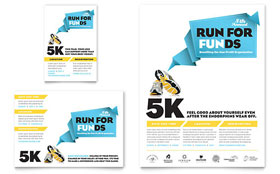 Charity Run - Flyer & Ad