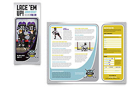 Junior Hockey Camp - Brochure Template