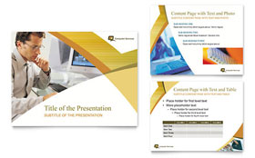 Computer Services & Consulting - PowerPoint Presentation
