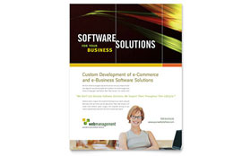 Internet Software - Flyer