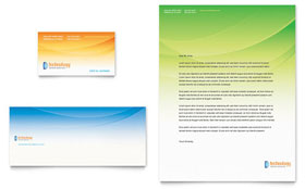 Computer & IT Services - Letterhead Template