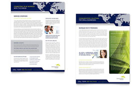 Global Communications Company - Datasheet