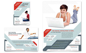 Computer Solutions - Flyer & Ad Template