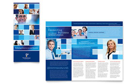 Technology Consulting & IT - Tri Fold Brochure