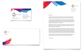 Software Solutions - Business Card & Letterhead Template