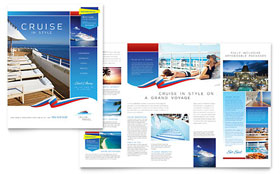 Cruise Travel - Microsoft Word Brochure