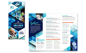 Ocean Aquarium - Brochure Template