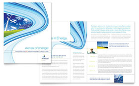 Renewable Energy Consulting - Apple iWork Pages Brochure