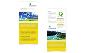 Environmental Conservation - Rack Card