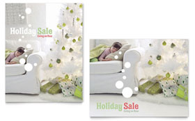 Christmas Dreams - Sale Poster Template