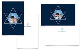 Star of David - Greeting Card