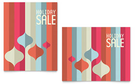 Modern Ornaments - Sale Poster