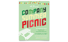 Company Summer Picnic - Flyer